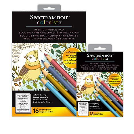 Colorista Premium Pencil Pads - Natural Beauty