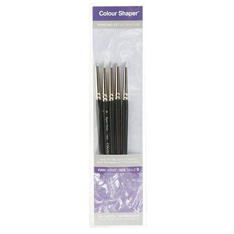 COLOUR SHAPER 5pc Painting Tool and Pastel Blending Set  - Firm No. 0