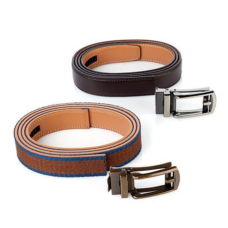 Comfort Click 2-pack Perfect Fit Adjustable Belts