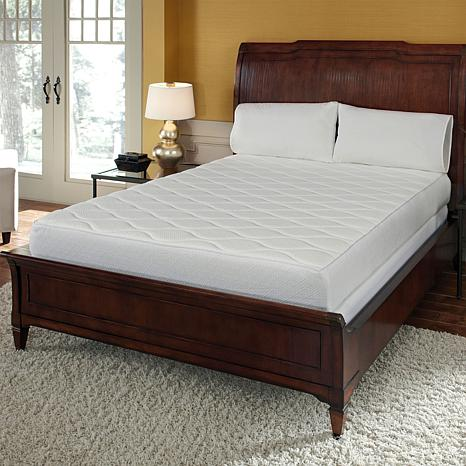 "Concierge Collection 10"" Memory Foam Quilted Mattress T"