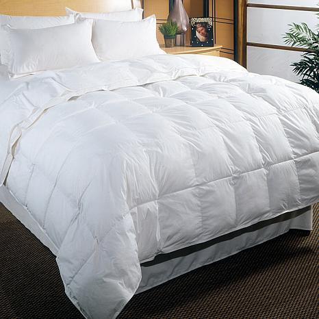 Concierge Collection Platinum 233 Thread Count White Down Comforter