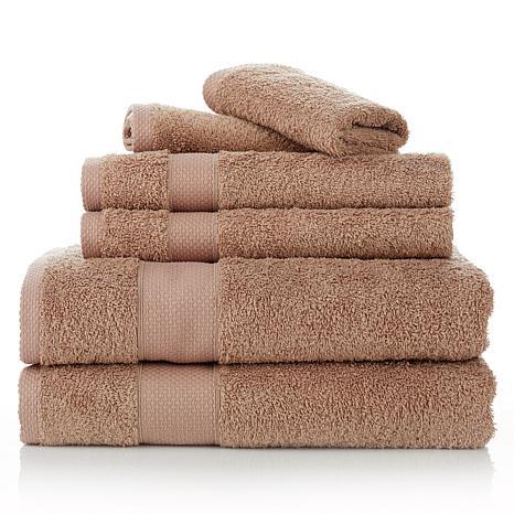Concierge Collection 6-piece 100% Turkish Cotton Towel Set