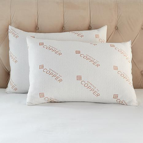 Concierge Collection Ever Clean Pillow 2-pack - Jumbo