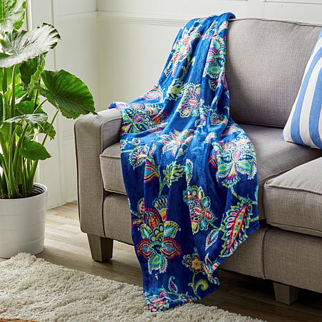 Concierge Collection Spring-Inspired Plush Throw