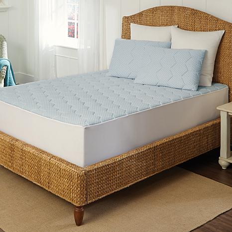 Gel Tech Mattress ... Collection Cooling Gel Memory Foam Mattress Pad - King - 7842389 | HSN