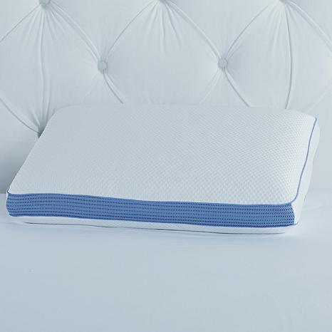 Concierge Rx Cool Memory Foam Bed Pillow and Cover