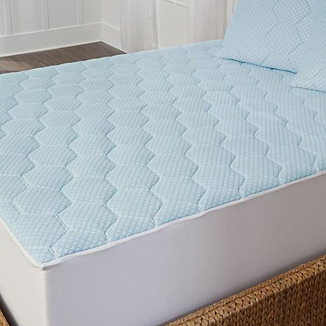 concierge rx cooling gel memory foam mattress pad full