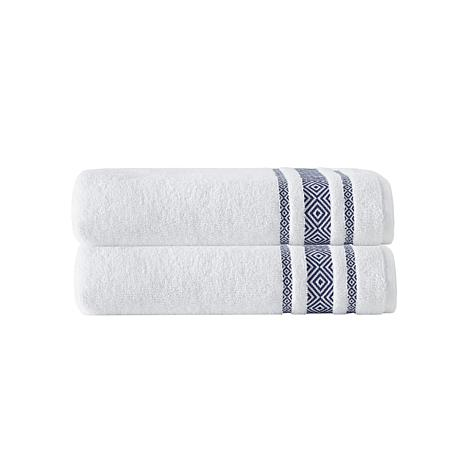 Cornellia 100% Turkish Smooth Cotton 2pc Bath Towel Set