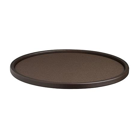 """Cosmopolitan 14"""" Round Serving Tray With 1/2"""" Rim"""