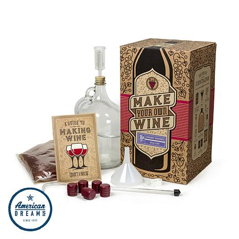 Craft-A-Brew All-In-One Cabernet Sauvignon Winemaking Kit