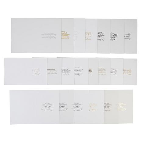 """Craft Factory A2 and 5"""" x 7"""" Luxury Card Inserts - 96 pieces"""