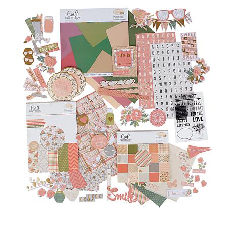Craft Factory Creations Sweet Delights Cardmaking Kit