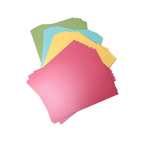 Crafter's Companion 8.5x11 Shimmering Cardstock 32-pack