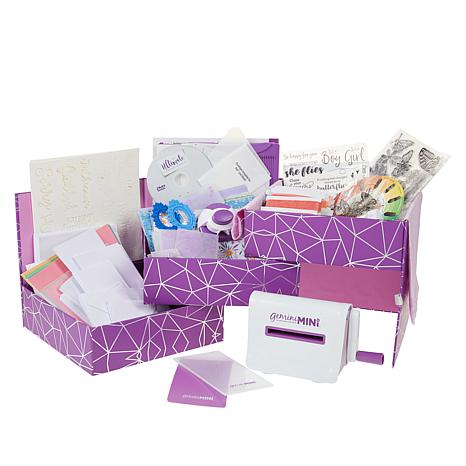 Crafter's Companion Card Making Kit with Gemini Mini and DVD Tutorial