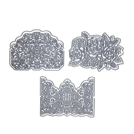 Crafter's Companion Cut On Edge Die Sets - Lavish Lace