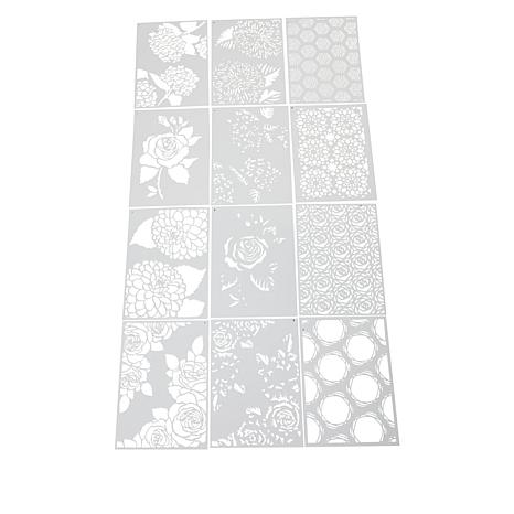 Crafter's Companion Floral Layering Stencils