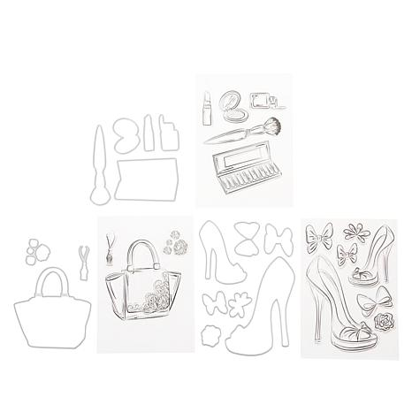 Crafter's Companion Shoes and Accessory Stamp & Die Set by Chloe
