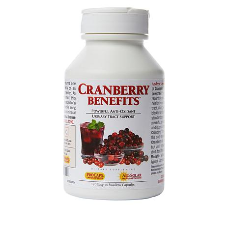 Cranberry Benefits - 120 Capsules