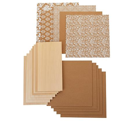 Cricut® Maker™  and Knife Blade Chipboard and Basewood Kit