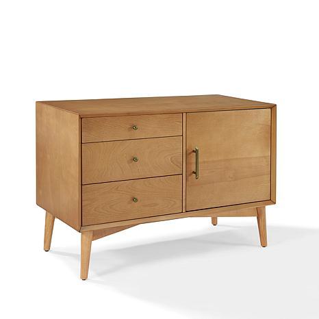 Crosley Furniture Landon Media Console Acorn 8480706 Hsn
