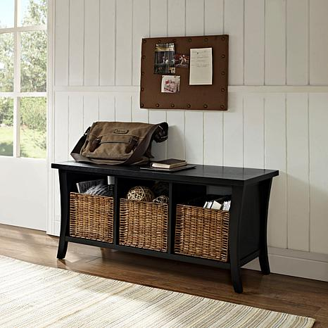 Wallis Entryway Storage Bench 10069283 Hsn