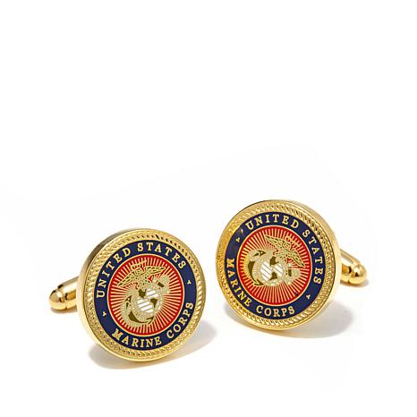 Cufflinks, Inc. Men's U.S. Marine Corps Seal Cuff Links
