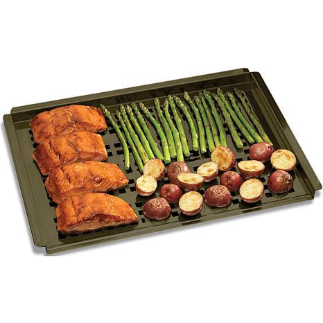 cuisinart nonstick grilling platter 7246412 hsn. Black Bedroom Furniture Sets. Home Design Ideas