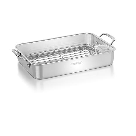 Cuisinart Stainless Steel Lasagna Pan with Rack