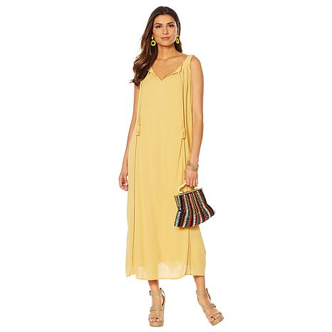 Curations Gauze Maxi Dress