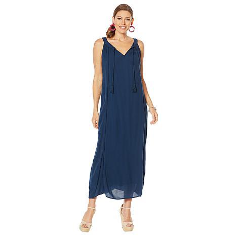 Curations Gauze Maxi Dress