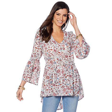 Curations Printed Top