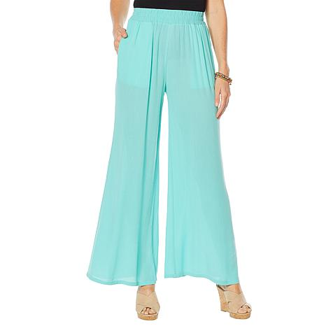 Curations Wide Leg Gauze Pant