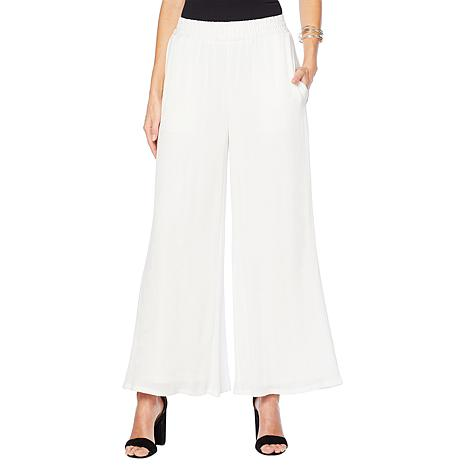 Curations Wide-Leg Pant - Lined White