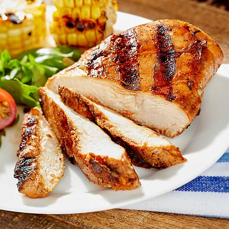 Curtis Stone 10-pack 6 oz. All-Natural BBQ Chicken Breasts