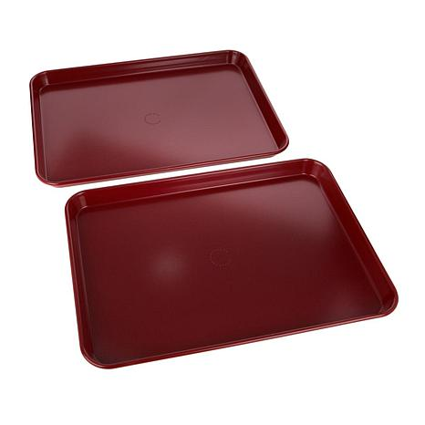 Curtis Stone Dura Bake 174 Set Of 2 Sheet Pans 8498354 Hsn
