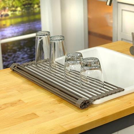 Perfect ... Curtis Stone Roll Up Drying Rack And Trivet ...