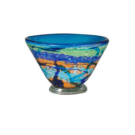 Dale Tiffany Favrile Glass Henna Vase 7244817 Hsn