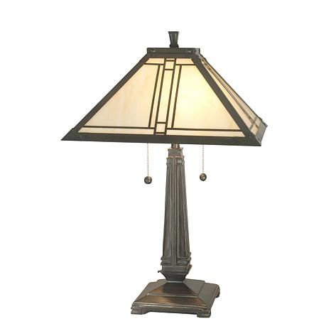 Dale Tiffany Mission-Style Table Lamp
