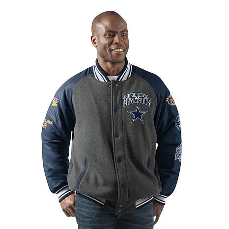 f7046ede384 Dallas Cowboys Men's Power Hitter Varsity Jacket - 8721927 | HSN