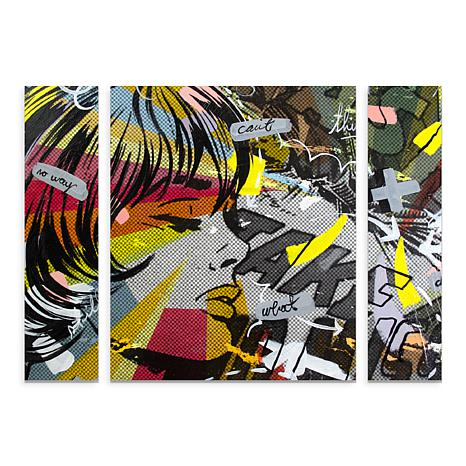 "Dan Monteavaro ""Take Away"" Multi-Panel Art - 24"" x 32"""