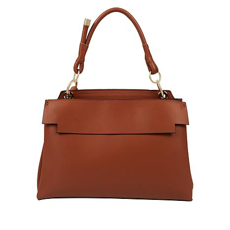 Danielle Nicole Leather Single-Handle Satchel