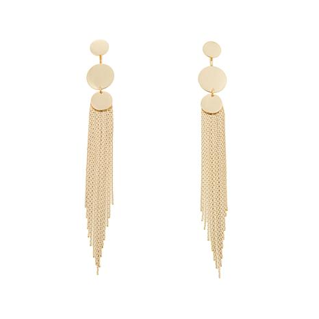 "Danielle Nicole ""Tara"" Multi-Disc Fringe Earrings"