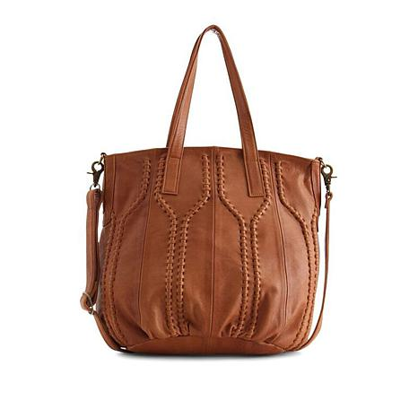 Day & Mood Levie Leather Tote