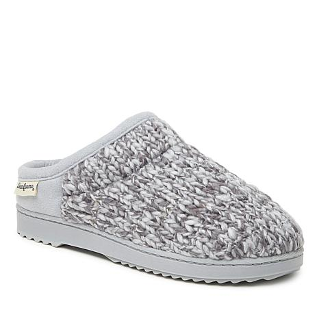 Dearfoams Women's Marled Sparkle Knit Clog