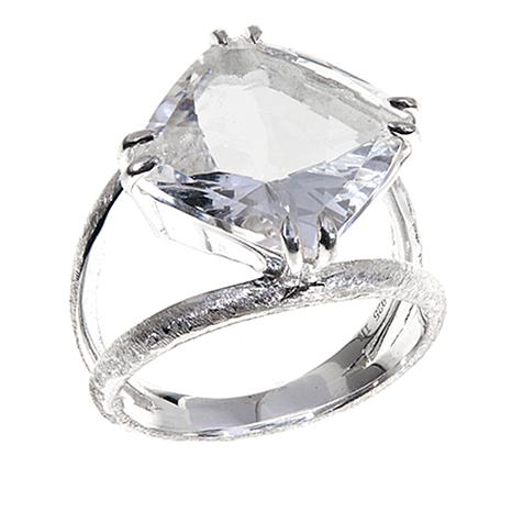 diamond quartz products d oval designs sterling deb ring guyot herkimer