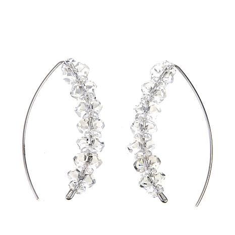 Deb Guyot Designs Herkimer Quartz Stiletto Earrings
