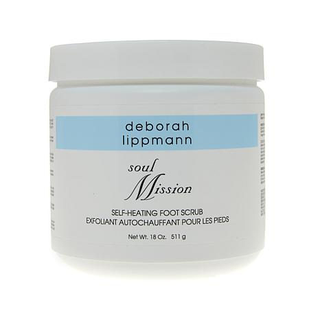 Deborah Lippmann Soul Mission Self-Heating Foot Scrub 18 oz.