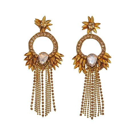 "deepa by Deepa Gurnani®  ""Persia"" Tassel Earrings"