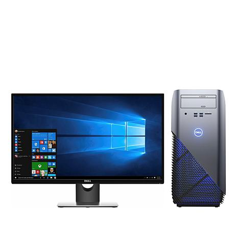 "Dell Inspiron Ryzen 5 8GB RAM/1TB HDD VR-Ready Gaming PC w/27"" Monitor"