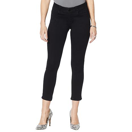 Democracy Womens Plus Size Ab Solution Ankle Skimmer Jean Jeans